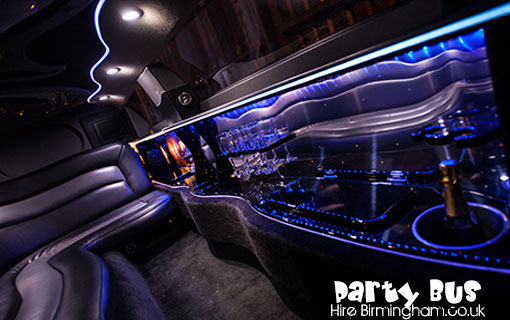 Cheap Birmingham Limo Hire Party Bus